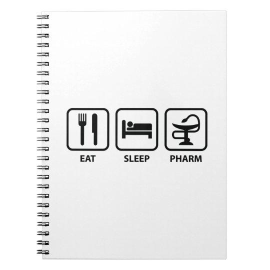 Eat Sleep Pharm Notebook