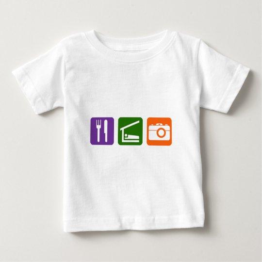 Eat Sleep Photography Baby T-Shirt
