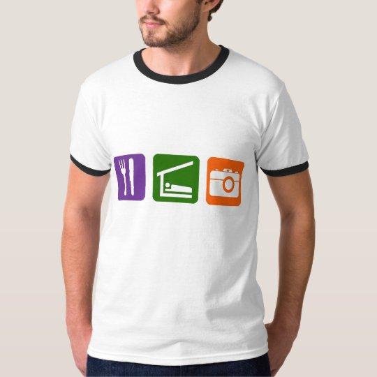 Eat Sleep Photography T-Shirt