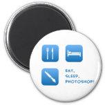 Eat, Sleep, Photoshop Magnets