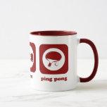 Eat. Sleep. Ping Pong. Mug