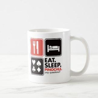Eat Sleep Pinochle Coffee Mug