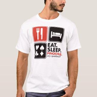 Eat Sleep Pinochle T-Shirt