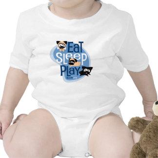 Eat, Sleep, Play! Apparel (Blue) Bodysuit