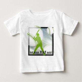 Eat, Sleep, Play Ball Baby T-Shirt