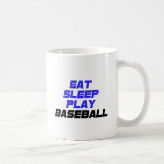 Eat, Sleep, Play, Baseball Mug