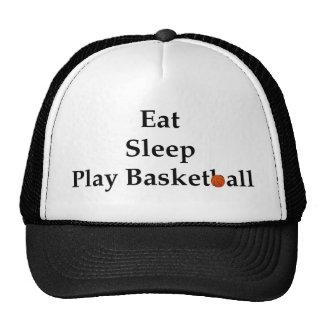 Eat Sleep Play Basketball Hat