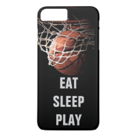 Eat Sleep Play Basketball iPhone 6 Plus Case