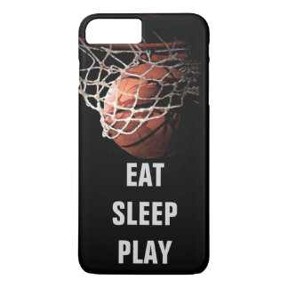 Eat Sleep Play Basketball iPhone 7 Plus Case