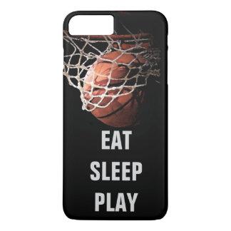 Eat Sleep Play Basketball iPhone 7 Plus Case