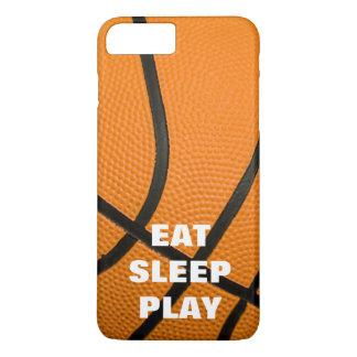 Eat Sleep Play Basketball Motivational iPhone 7 Plus Case