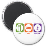 Eat Sleep Play Bass Fridge Magnet
