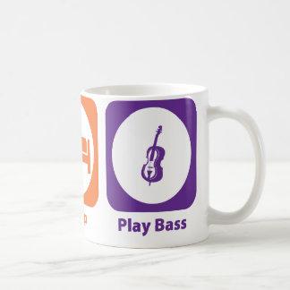 Eat Sleep Play Bass Coffee Mug