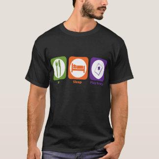 Eat Sleep Play Bridge T-Shirt