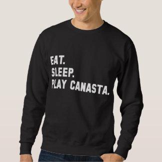 """""""Eat, Sleep, Play Canasta"""" Shirt"""