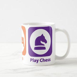 Eat Sleep Play Chess Coffee Mug