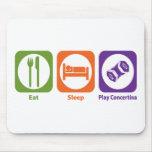 Eat Sleep Play Concertina Mouse Mats
