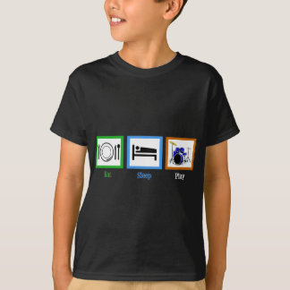 Eat Sleep Play Drums T-Shirt