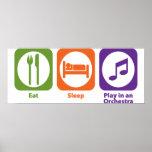 Eat Sleep Play en una orquesta Impresiones