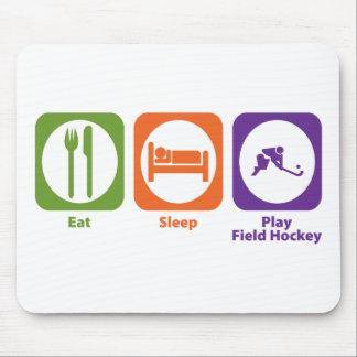 Eat Sleep Play Field Hockey Mouse Pad