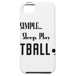 eat sleep play football iPhone SE/5/5s case