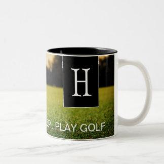 Eat, Sleep, Play Golf Coffee Mug