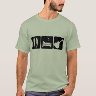 eat sleep play guitar T-Shirt