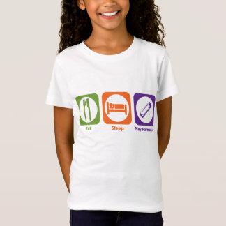Eat Sleep Play Harmonica T-Shirt
