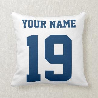 Eat Sleep Play Hockey Customizable Pillow