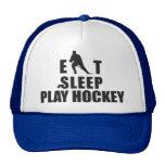 Eat Sleep Play Hockey Hats