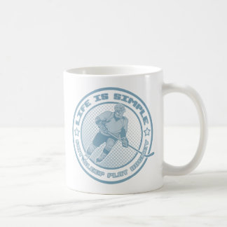 Eat Sleep Play Hockey Mugs
