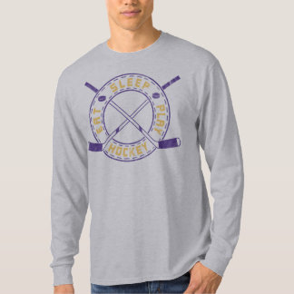 Eat, Sleep, Play Hockey Tee Shirt