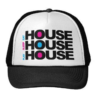 Eat Sleep Play House Mesh Hats
