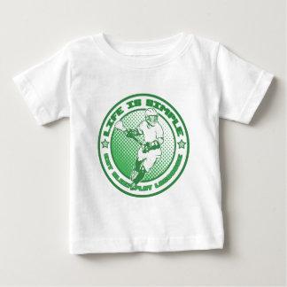 Eat, Sleep, Play Lacrosse Baby T-Shirt