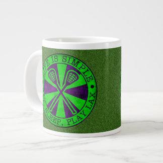 Eat, Sleep, Play Lacrosse Giant Coffee Mug