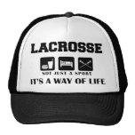 Eat Sleep Play Lacrosse Mesh Hat