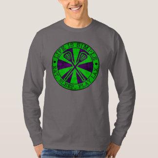 Eat, Sleep, Play Lacrosse T-Shirt