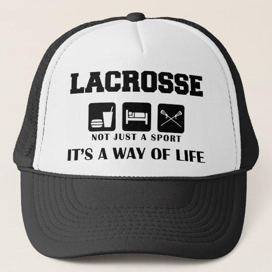 Eat Sleep Play Lacrosse Trucker Hat