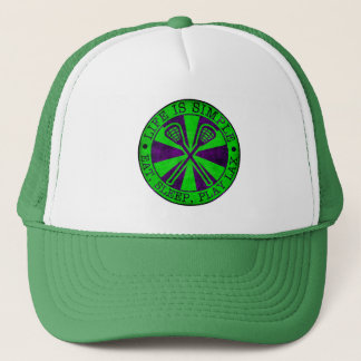 Eat, Sleep, Play Lacrosse Trucker Hat
