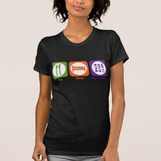 Eat Sleep Play las ranuras Camisetas