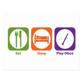 Eat Sleep Play Oboe Postal