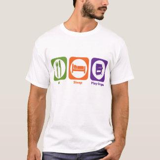 Eat Sleep Play Organ T-Shirt