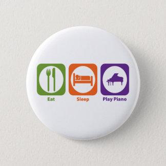 Eat Sleep Play Piano Button