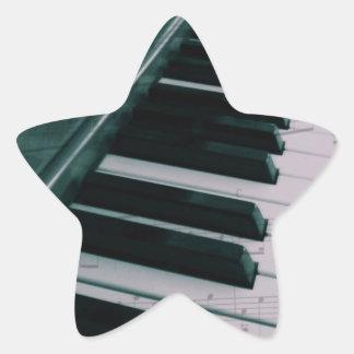 Eat Sleep Play (Piano) Star Sticker