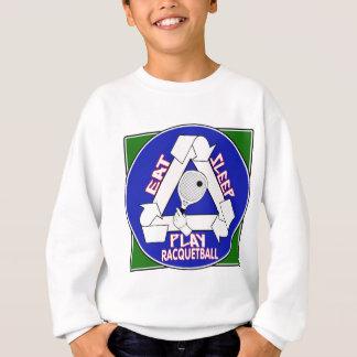 Eat Sleep Play Racquet Ball Sweatshirt