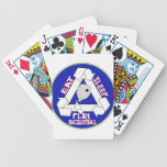 EAT, SLEEP, PLAY RACQUETBALL - REPEAT BICYCLE PLAYING CARDS