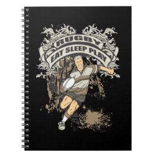 Eat, Sleep Play Rugby Notebook