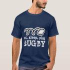 Eat sleep play rugby t-shirt | Men's apparel