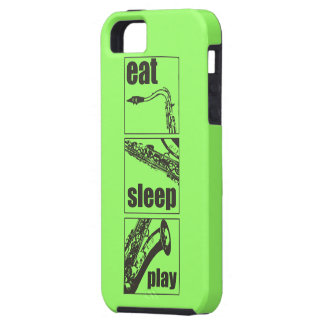 Eat Sleep Play Saxophone iPhone 5 Case