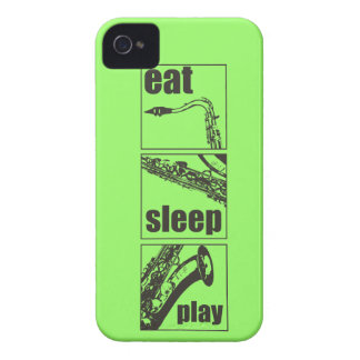 Eat Sleep Play Saxophone Case-Mate iPhone 4 Case